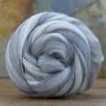 Merino Mixed Grey and White - Wool Top
