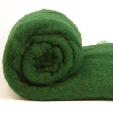Merino Wool Carded Batt - Conifer