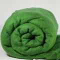 Merino Wool Carded Batt - Grass-7 oz