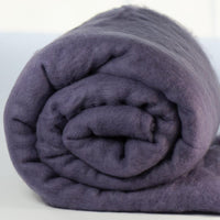 Merino Wool Carded Batt - Heather-7 oz