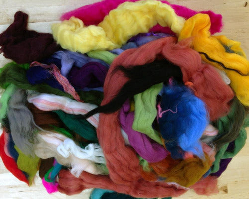 RHAPSODY spinning fiber blend hand-pulled rovings \u2013 for spinning and felting