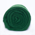 NZ Perendale Wool Carded Batt - Forest-7 oz