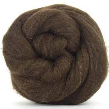 Merino Natural Brown-Wool Top