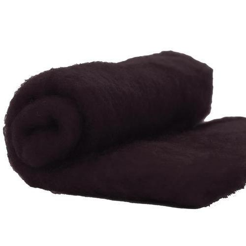 NZ Perendale Wool Carded Batt - Dark Mocha-7 oz