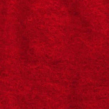 NZ Perendale Wool Carded Batt - Scarlet-7 oz
