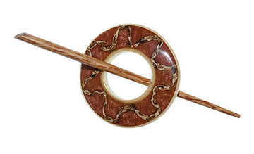 Copper Elepante Shawl Pin