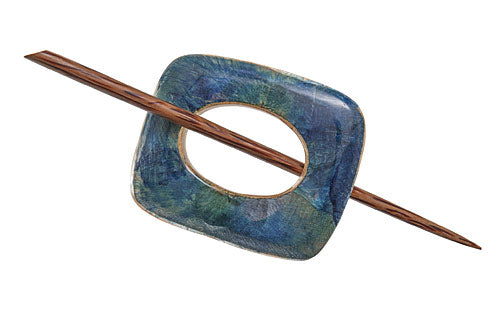 Royal Mahogany Shawl Pin