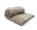 Shetland Wool Carded Batt - Natural Grey -7 oz