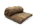 Carded Fiber Batt - Shetland Wool - Natural Moorit Brown - 7 oz