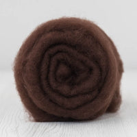 Superfine Merino Carded Batt-Chocolate