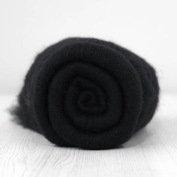 Superfine Merino Carded Batt-Dark