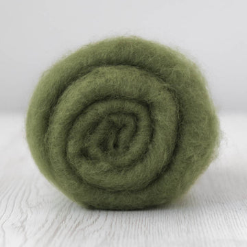 Superfine Merino Carded Batt-Ivy