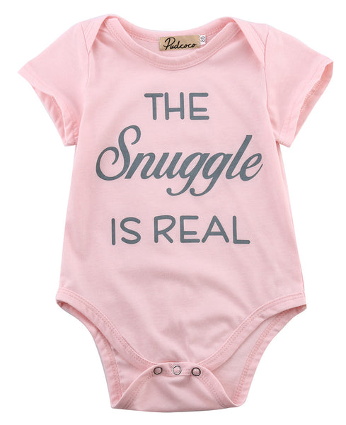 1pcs!!Newborn Toddler Infant Baby Boys Girls Short Sleeve Letter Printing Bodysuit Jumpsuit Outfits Summer Clothes Pink New