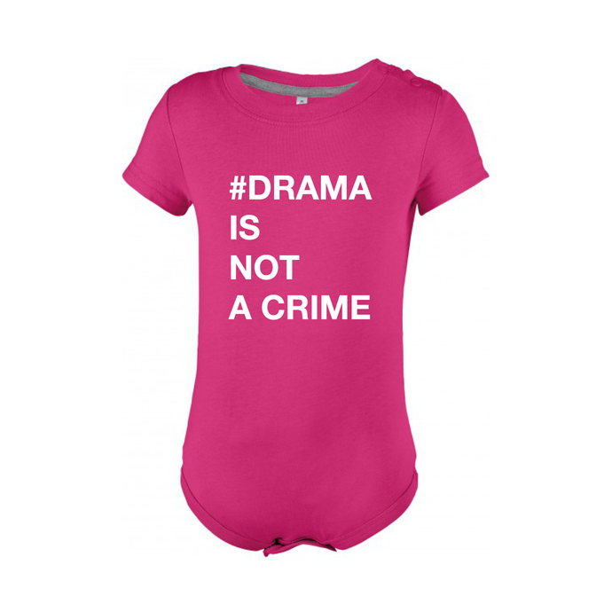 BABYBODY - #DRAMA IS NOT A CRIME - Short Sleeves - Pink
