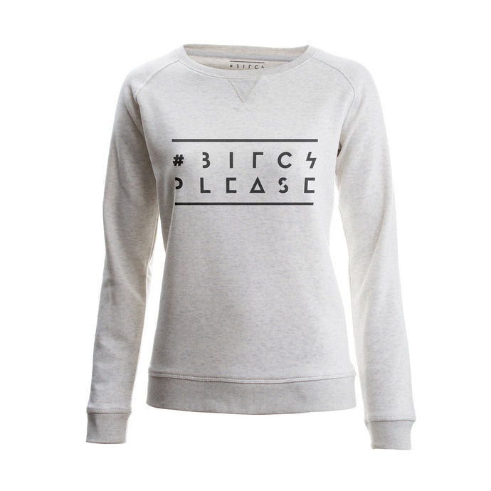 SWEATER - LOGO - long sleeves - Cream