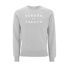 SWEATER - PARDON MY FRENCH - long sleeves - Grey