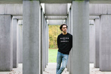 SWEATER - PARDON MY FRENCH - long sleeves - Black
