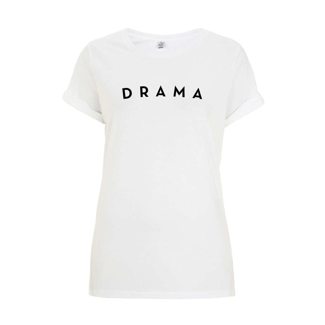 T-SHIRT - DRAMA - Short Sleeves - White