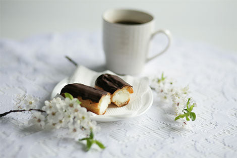 <b>SHOP</b><br>our éclairs