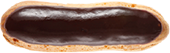 Our éclairs look good from every angle