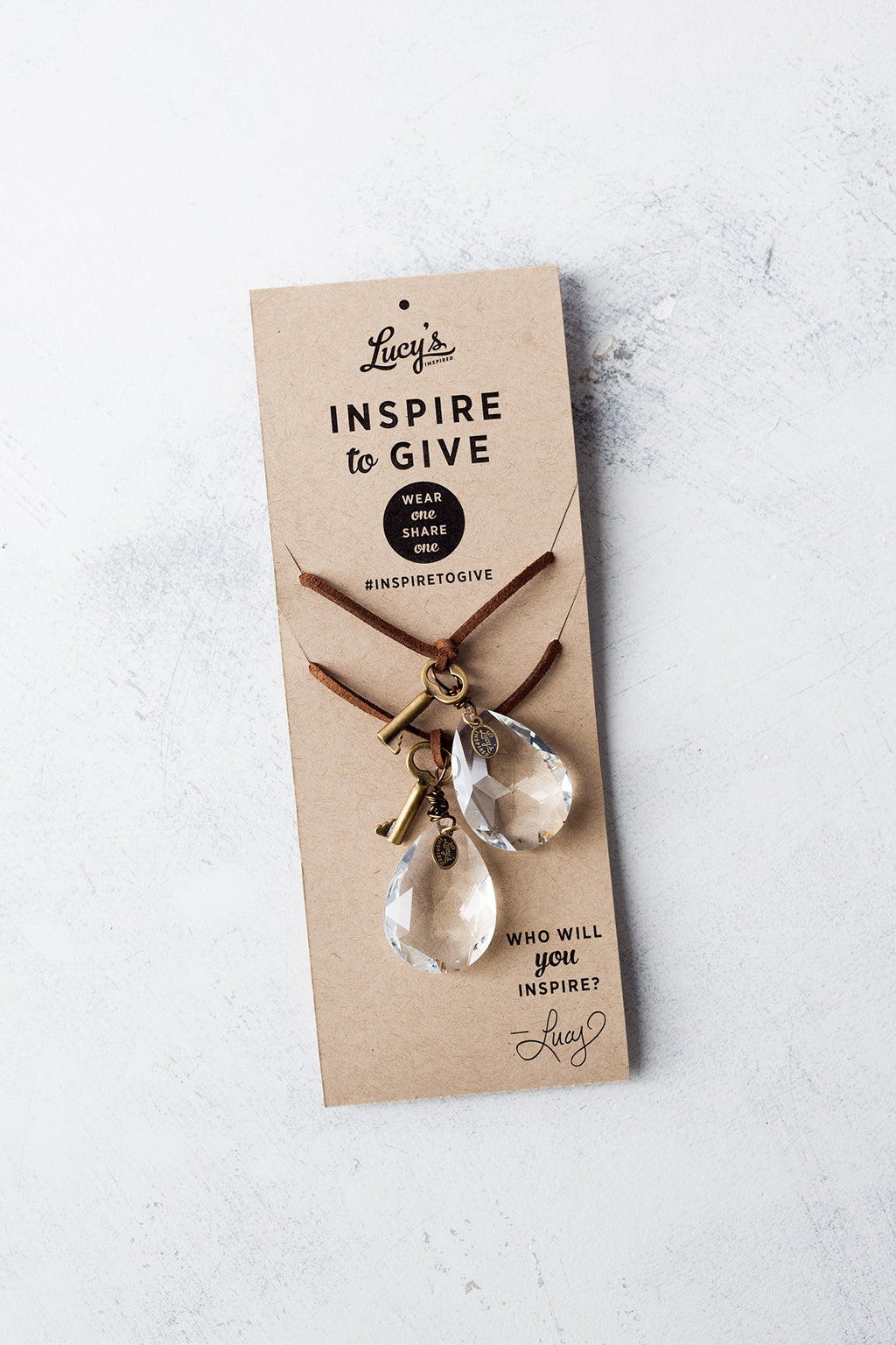 Inspire To Give Necklace Set