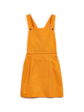 Robe salopette Marcelle orange - ARLETTE et PAULETTE