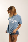 Sweet Leaf Short-Sleeved Sweatshirt