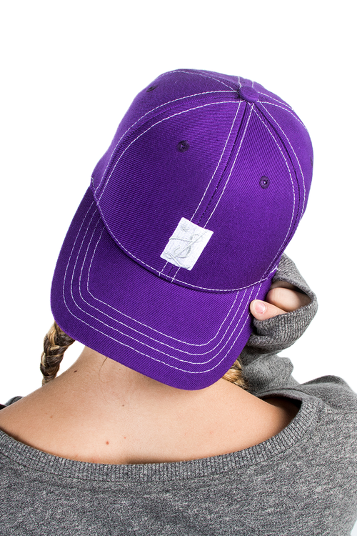 Bright Purple Dad Hat
