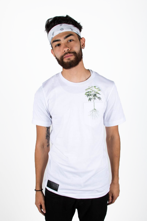 Weed plant graphic tee