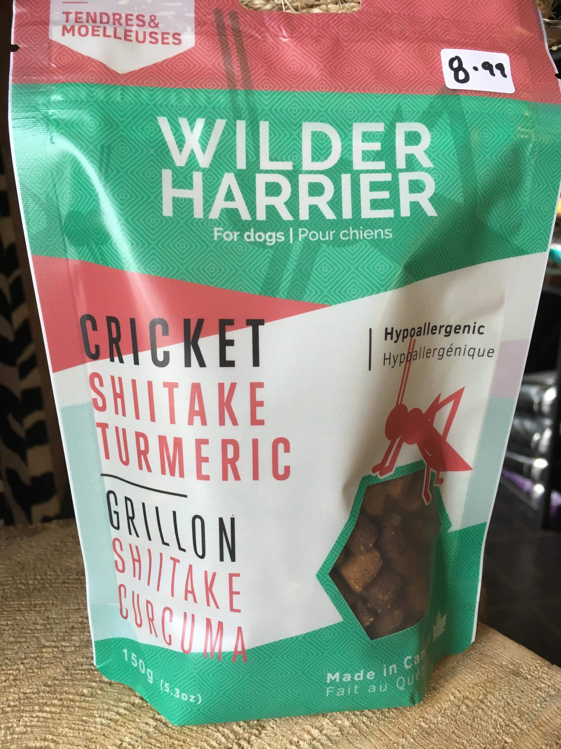 Wilder Harrier / Cricket Shiitake Turmeric
