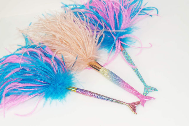 Mermaid Tail - Ostrich Feather