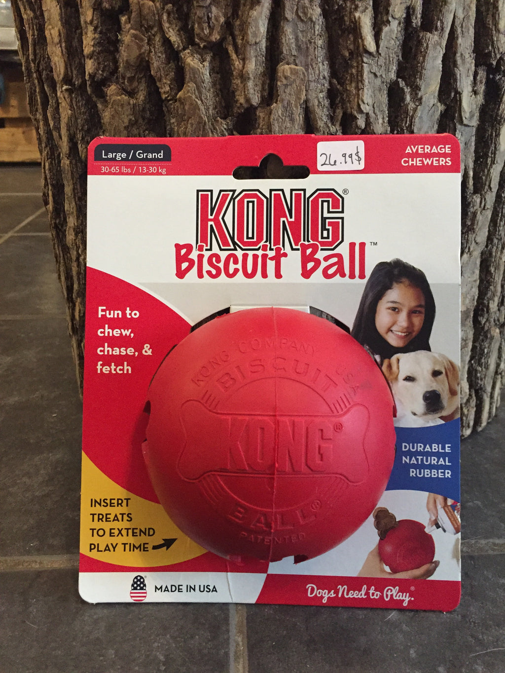 KONG / Biscuit Ball / Large