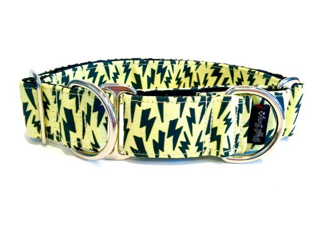 Collar lightning yellow wigglebumz