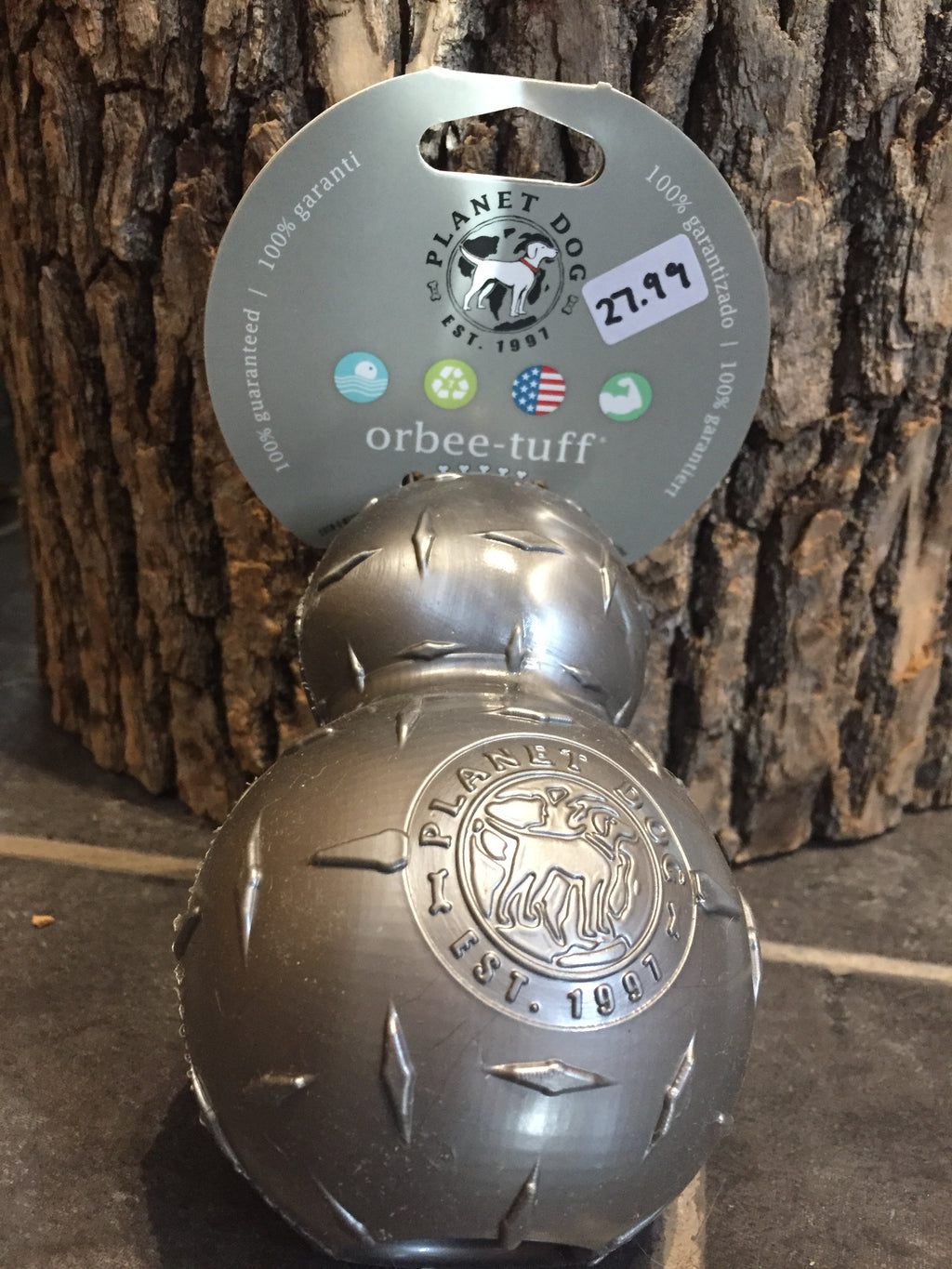 PLANET DOG / large double tuff ball steel