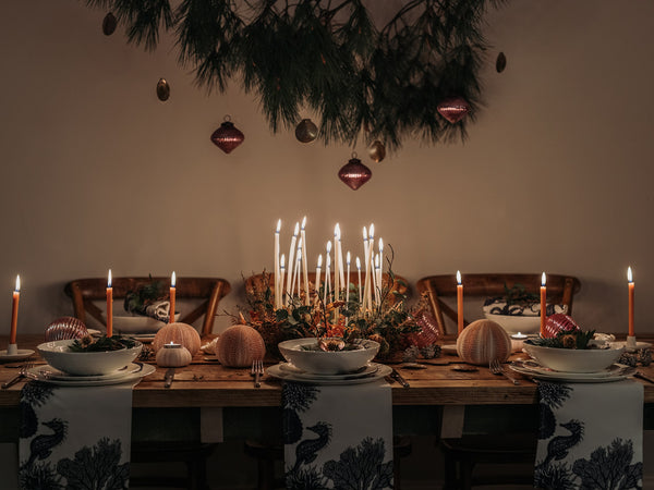 How To Dress Your Christmas Table With A Coastal Style - A Step By Step Guide
