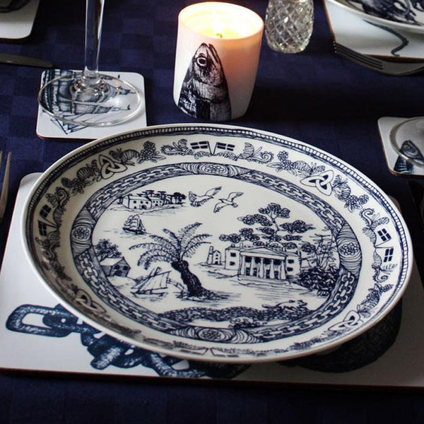 Rebecca's Love of Blue & White And The Willow Pattern