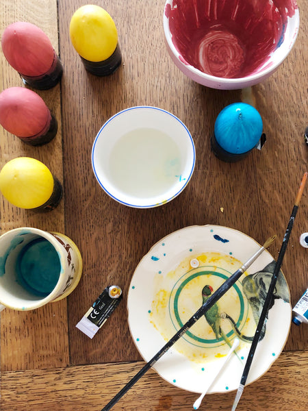Duck Egg Painting