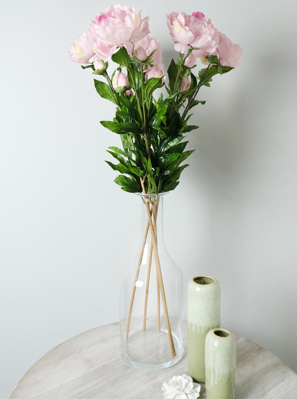 Pink Peony Spray -Accessories- Cream Cornwall