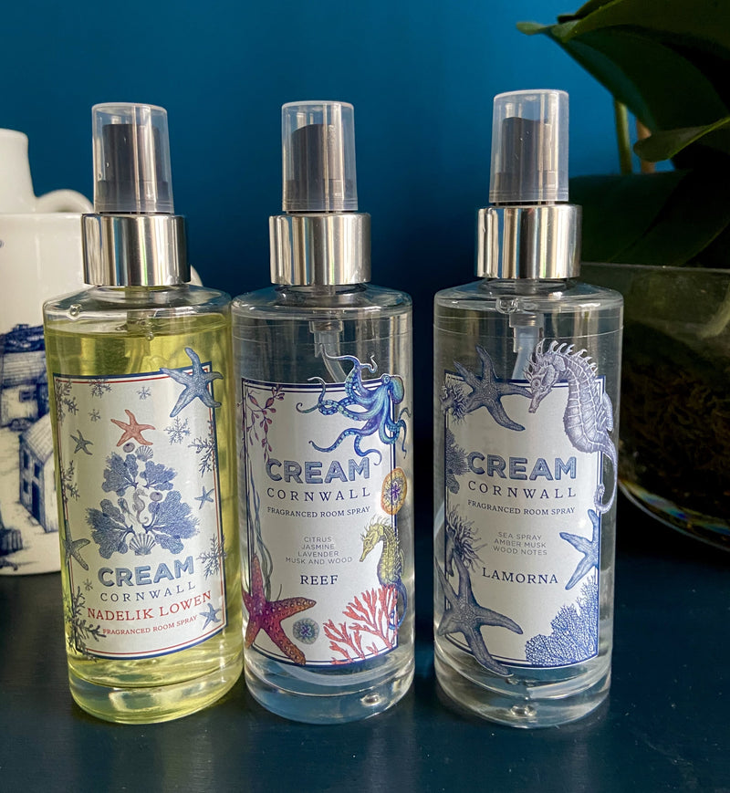 Fragranced Room Spray - Reef -Accessories- Cream Cornwall