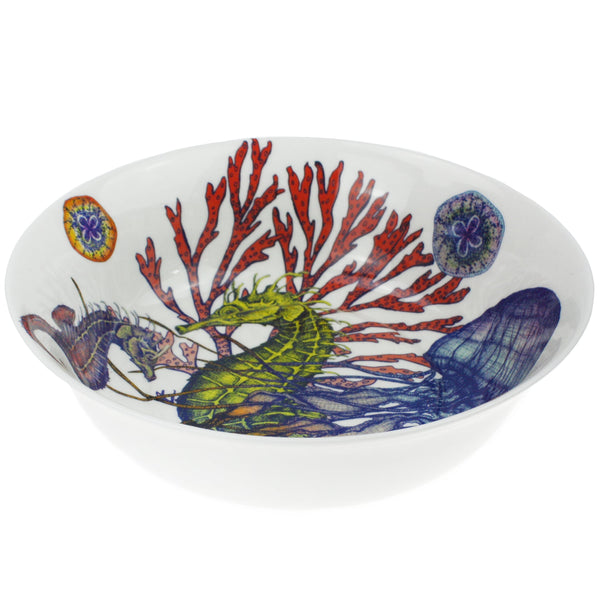 Bone China Reef Serving Bowl -Kitchen & Dining- Cream Cornwall