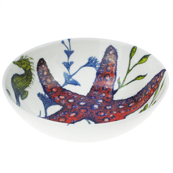 Bone China Reef Cereal Bowl -Kitchen & Dining- Cream Cornwall