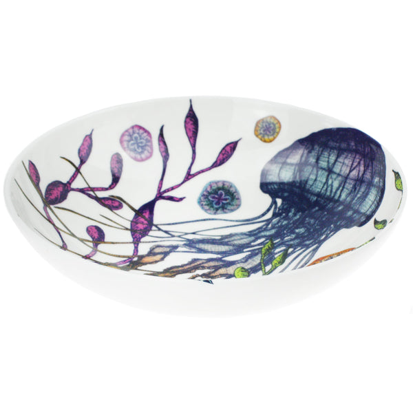 Bone China Reef Pasta Bowl -Kitchen & Dining- Cream Cornwall