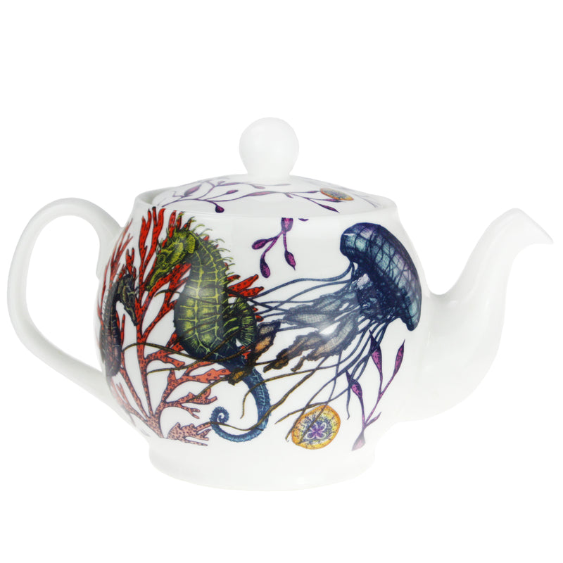 Reef Teapot -Kitchen & Dining- Cream Cornwall