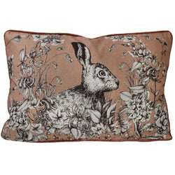 Hare Cushion Cover-Trenwith -Homeware- Cream Cornwall