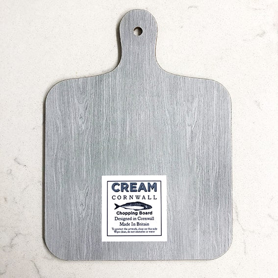 Octopus Mini Chopping Board -Kitchen & Dining- Cream Cornwall
