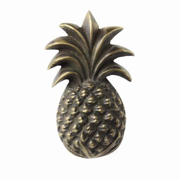 Brass Pineapple Decorative Handle -Accessories- Cream Cornwall