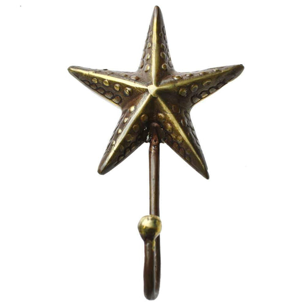Starfish Brass Hook No.2 -Accessories- Cream Cornwall