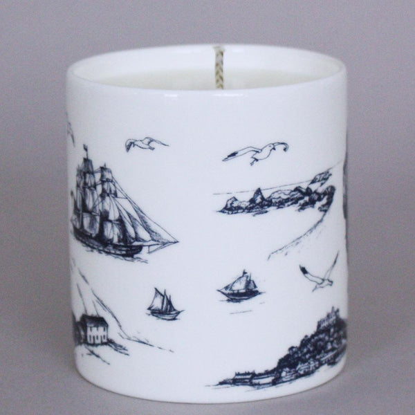 Cadgwith Candle -Accessories- Cream Cornwall