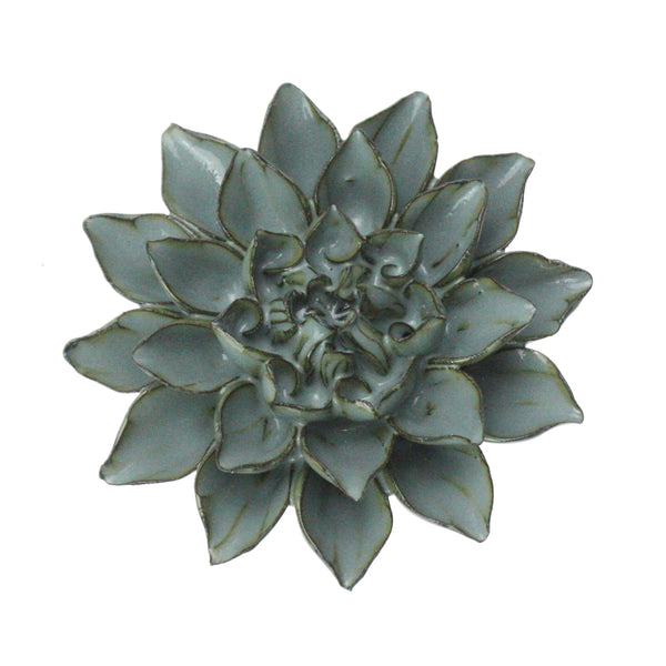 Soft Greys Underwater Flower -Accessories- Cream Cornwall