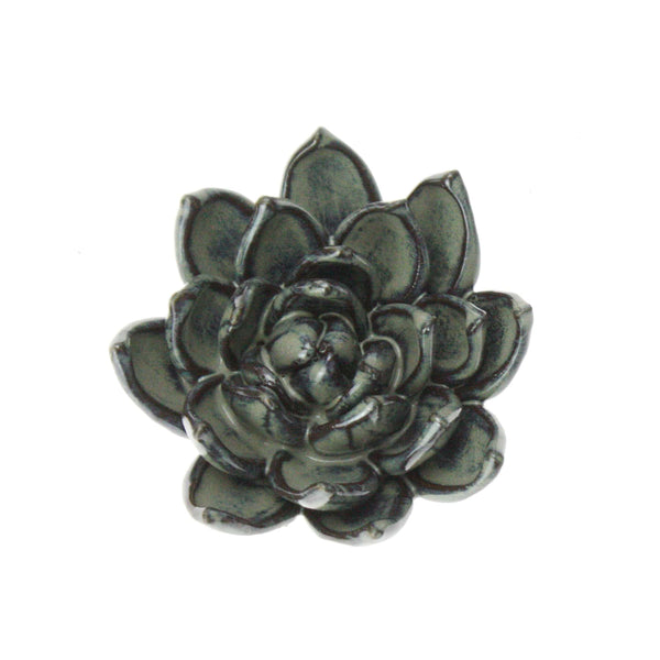 Mixed Grey Underwater Flower -Accessories- Cream Cornwall
